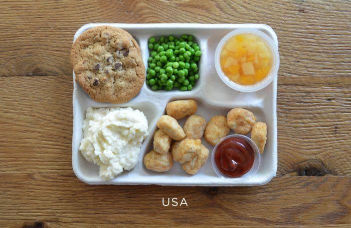 Школьные завтраки со всего мира?