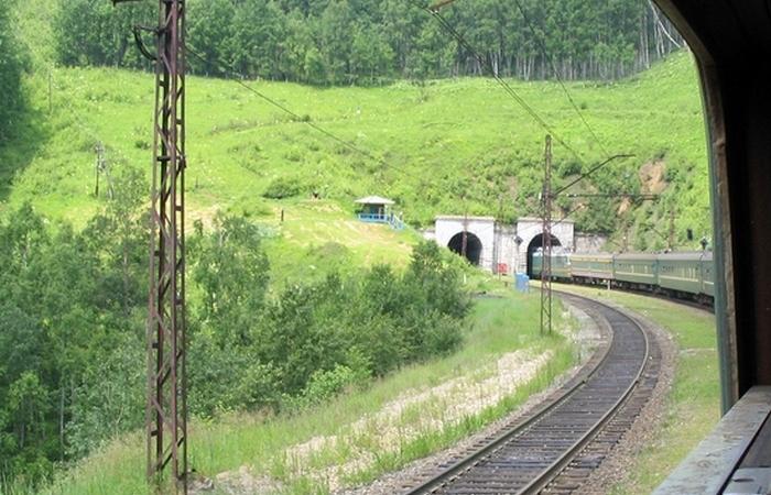 Тоннели Транссиба. /фото:train.spottingworld.com