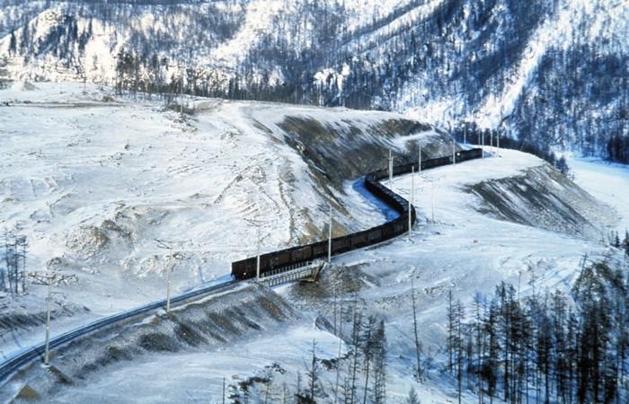 Транссиб зимой. /фото:medium.com