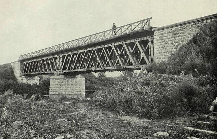 Классика мостостроения. /фото:humus.dreamwidth.org