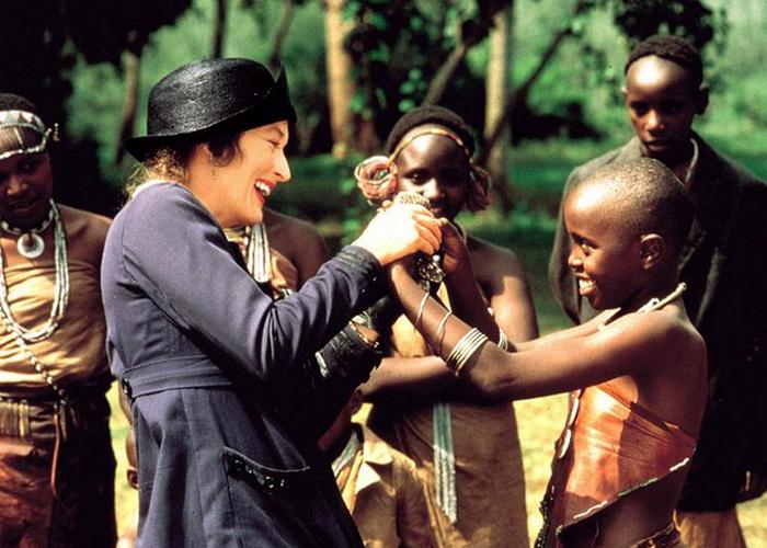 Кадр из фильма «Из Африки»./фото: kinomania.ru