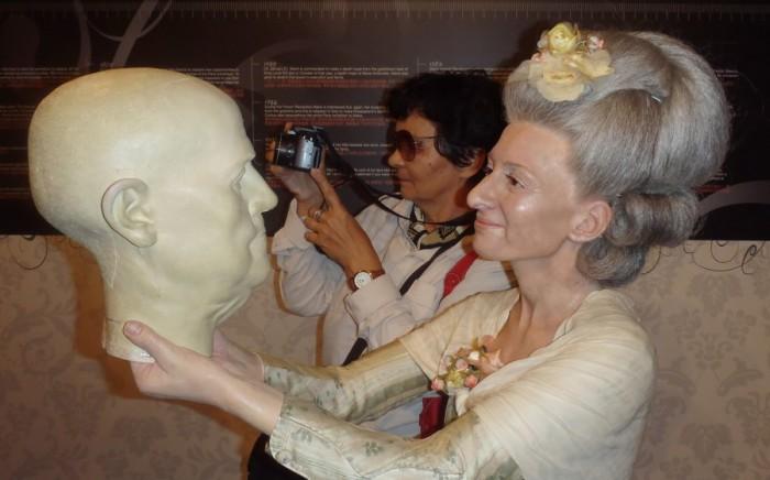 Мария Тюссо превзошла своего наставника.