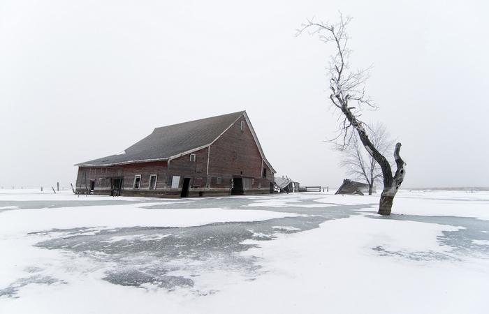 Пейзажи Северной Дакоты.   Фото:passionpassport.com