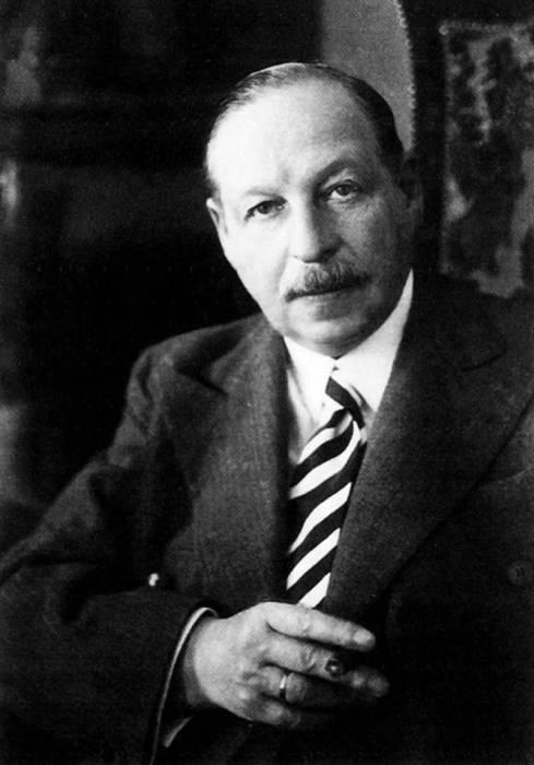 Великий композитор Имре Кальман.
