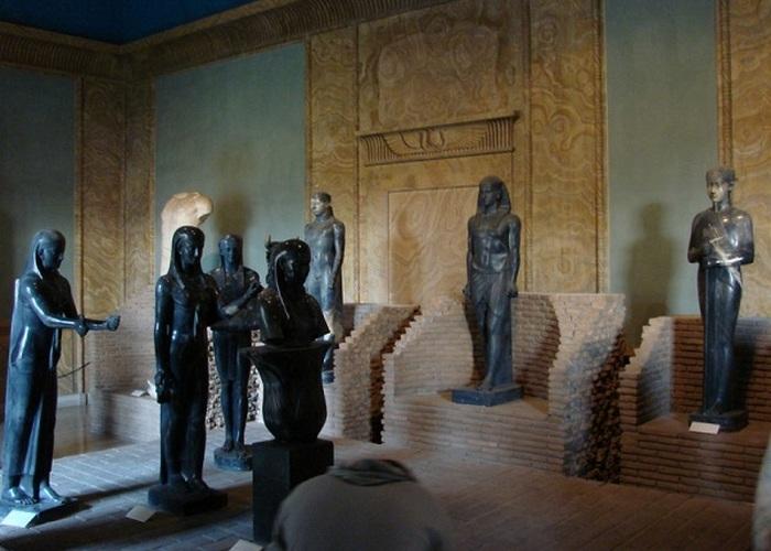 Музеи Ватикана: Григорианский Египетский музей».