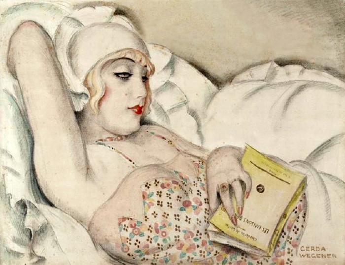Одна из картин Герды Вегенер.