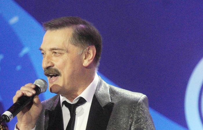 Народный артист Беларуси Александр Тиханович.