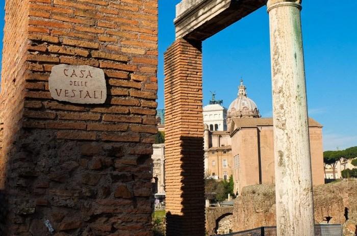 Древний Рим, которым правили весталки.