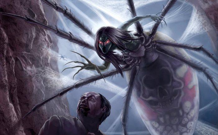 Йогорумо - паукообразный монстр.