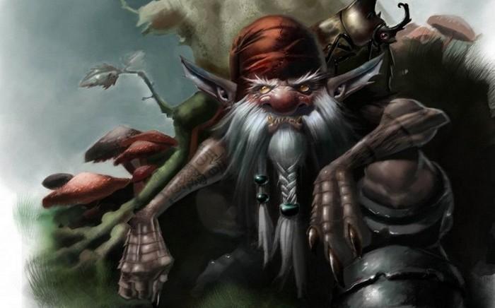 Злобные гоблины и прочие монстры из легенд разных народов мира.
