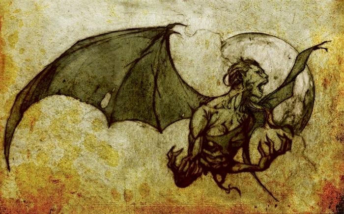 Брахмапаруша - вампир испытывающий страсть к человеческим мозгам.