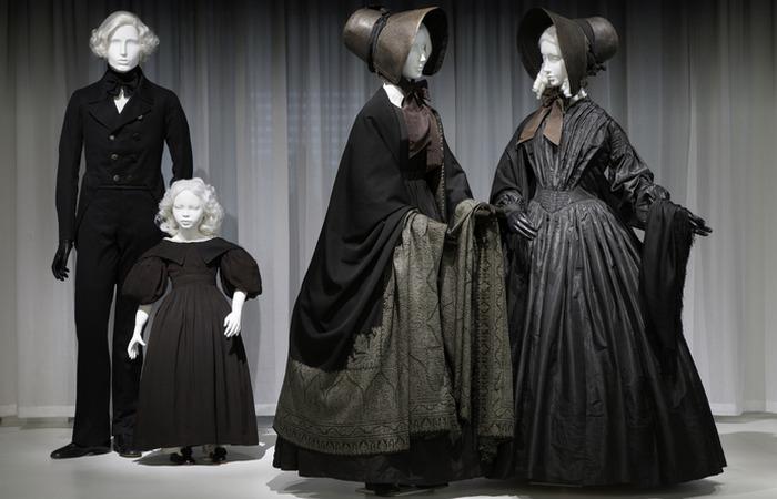 Траурные одеяния. / Фото: combeinspireddaily.net
