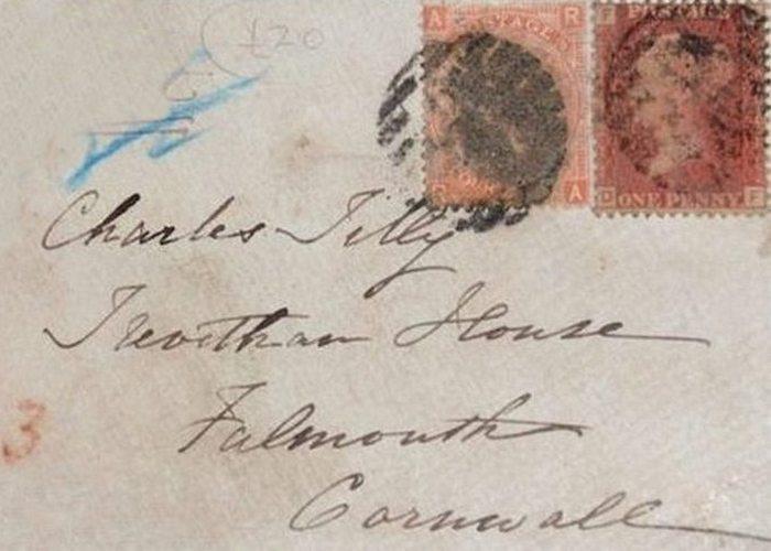 Траур в викторианскую эпоху: конверты и карты памяти.