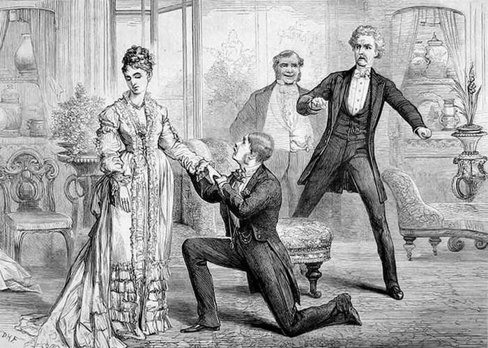 Джентльмены викторианской эпохи.