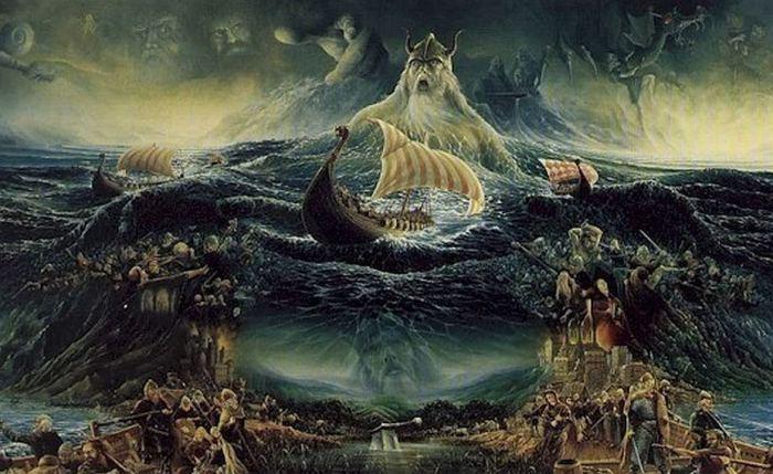 Всё самое интересное о скандинавской мифологии.