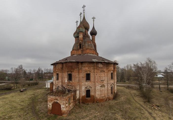 Церковь построена в 1770 году.