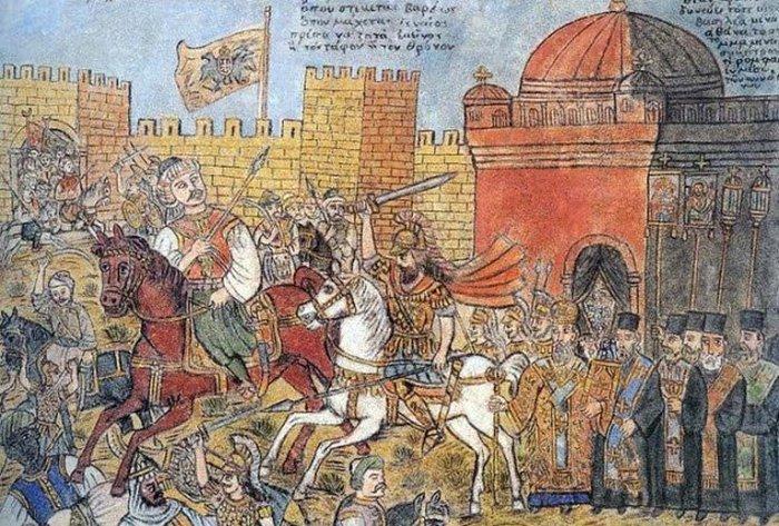 Интриги как часть Константинополя.
