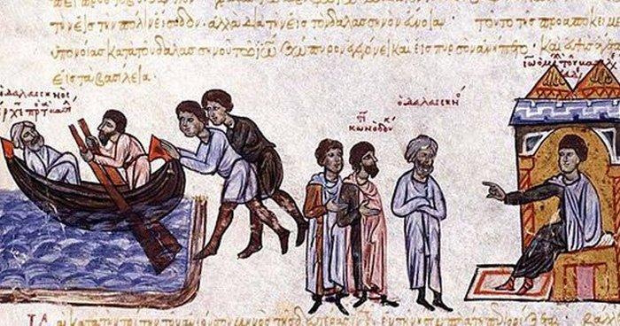 Византийские евнухи.