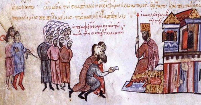 Страсти византийские.