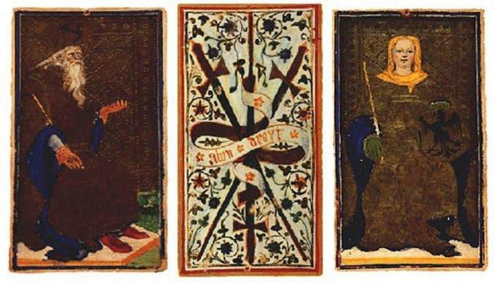 Император, Рыцарь Кубков, Императрица. / Фото: thevintagenews.com