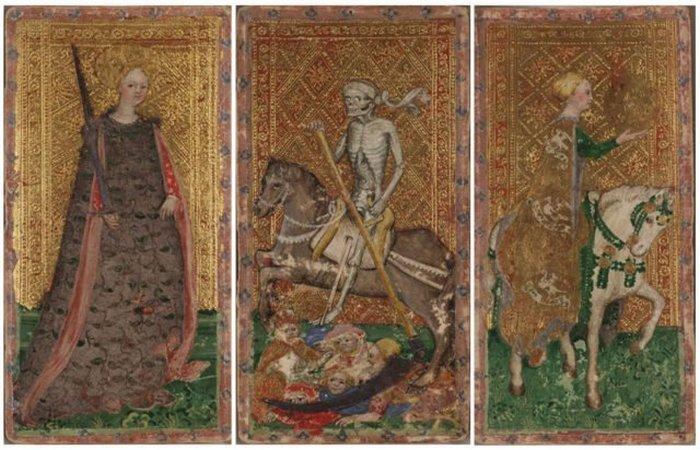 Дама мечей, Смерть, Леди верхом на лошади. / Фото: thevintagenews.com