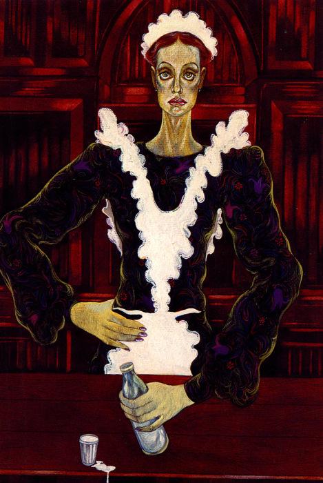 Инна Чурикова в спектакле А.Вампилова «Прошлым летом в Чулимске», 1988.