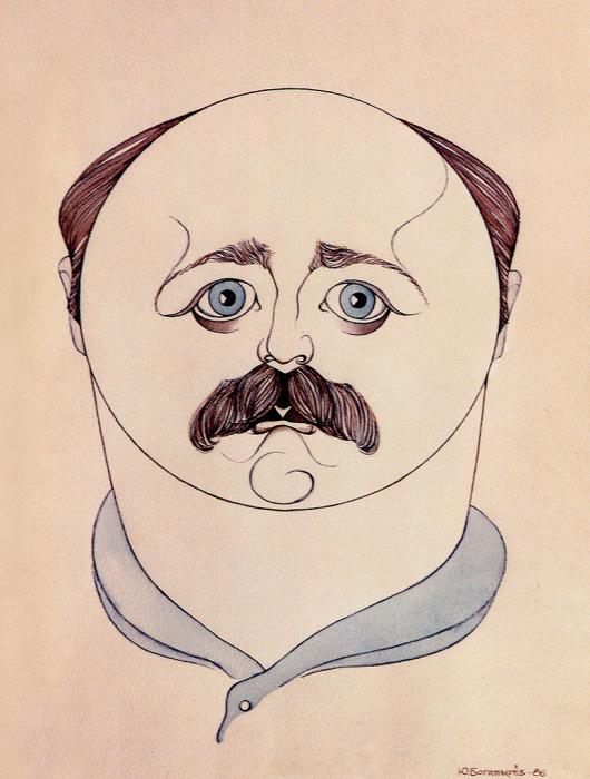 Александр Калягин, шарж. 29 августа 1986
