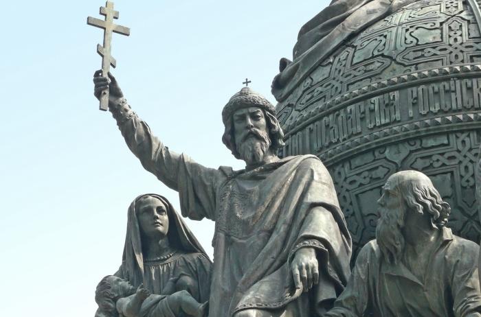 Владимир Красное Солнышко - язычник-сластолюбец и великий Креститель Руси.