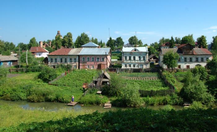 Село Вятское - самая красивая российская деревня.