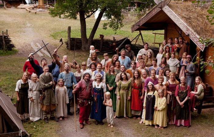 Деревня викингов./фото: sodvo.ru