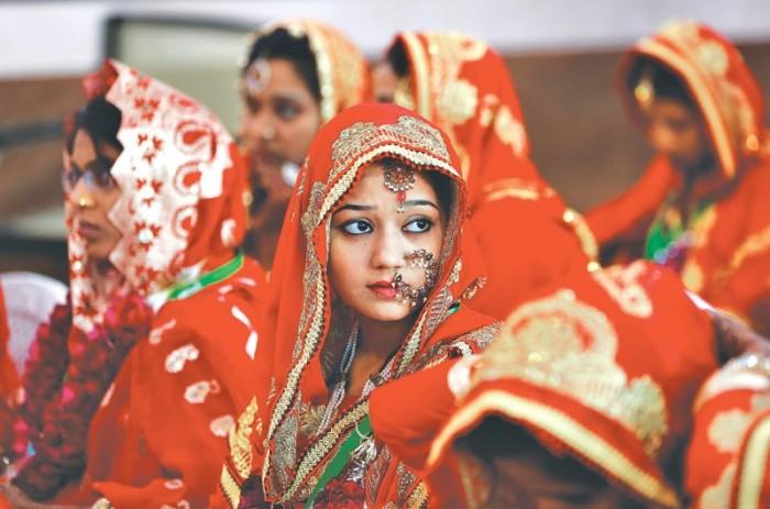 Ранние браки и сегодня распространены в Индии.