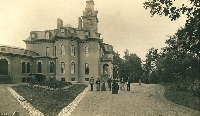 Психиатрическая больница The Willard Asylum в Нью-Йорке.