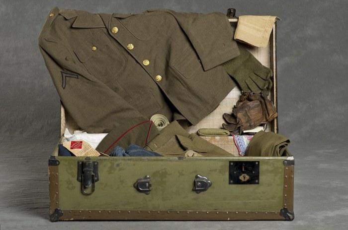 Военная форма из чемодана Фрэнка С.