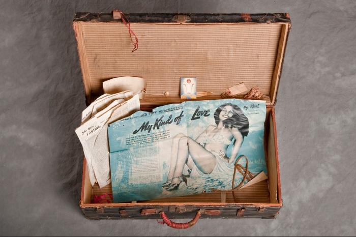 Содержимое чемодана Карлоса F.