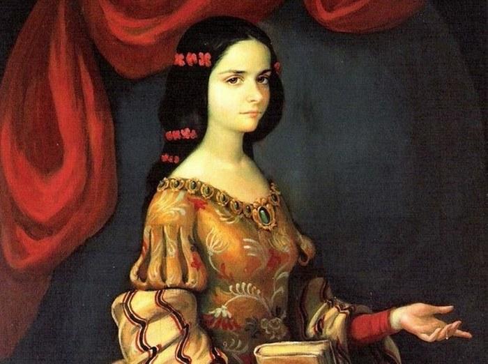 Сестра Хуана Инес де ла Крус.