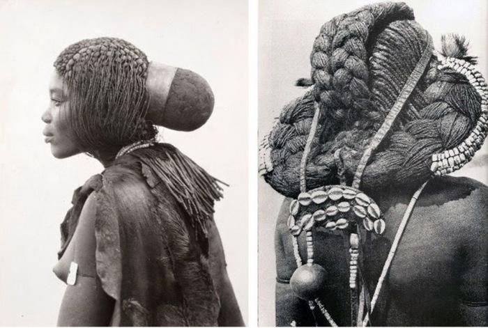 Оригинальные африканские причёски.
