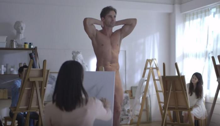 Почти эротическая реклама.