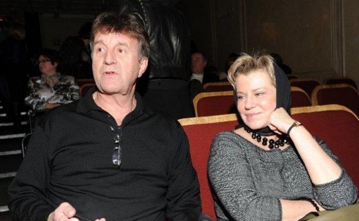 Леонид Ярмольник и Оксана Афанасьева: нескучный брак, превративший ловеласа в образцового семьянина.