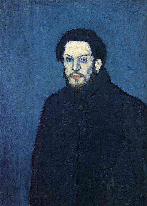 Автопортрет Пабло Пикассо, 1901 года.