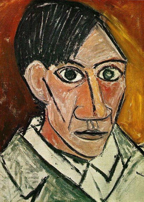 Автопортрет Пабло Пикассо, 1907 года.