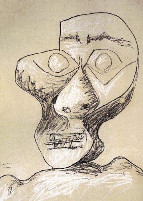 Автопортрет Пабло Пикассо, July 2, 1972 года.
