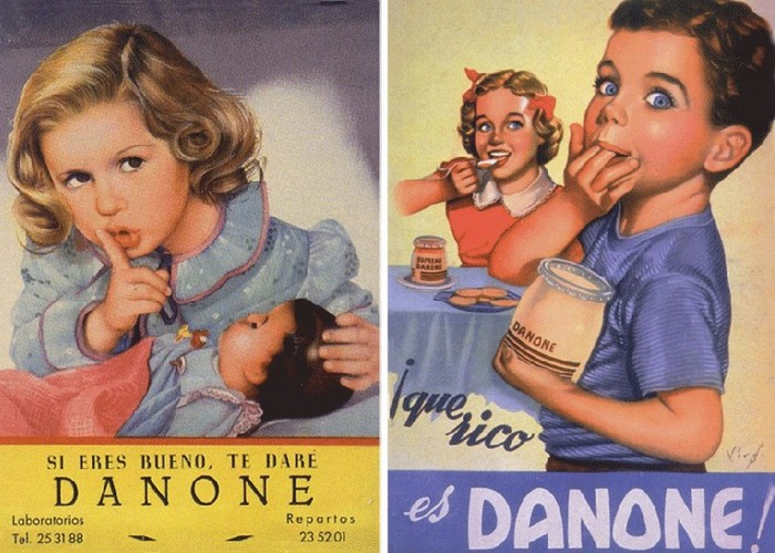 Рекламный плакат начала века. / Фото: nbiplus.com
