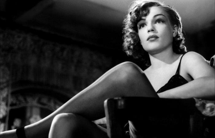 Симона Синьоре, кадр из фильма «Щебень», 1946 год. / Фото: kino-teatr.ru