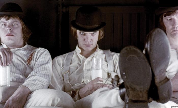 «Заводной апельсин» - мрачная британская история.