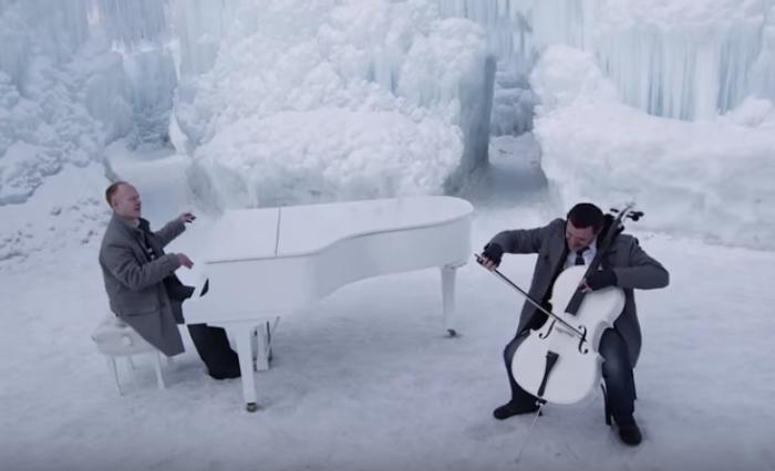 Ледяной микс от «The Piano Guys»