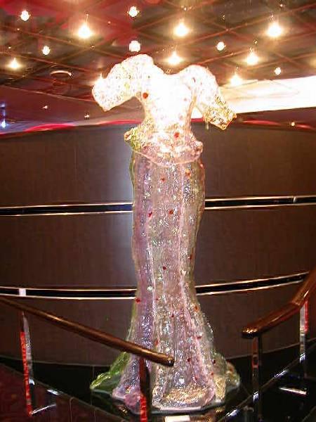 Стеклянное платье