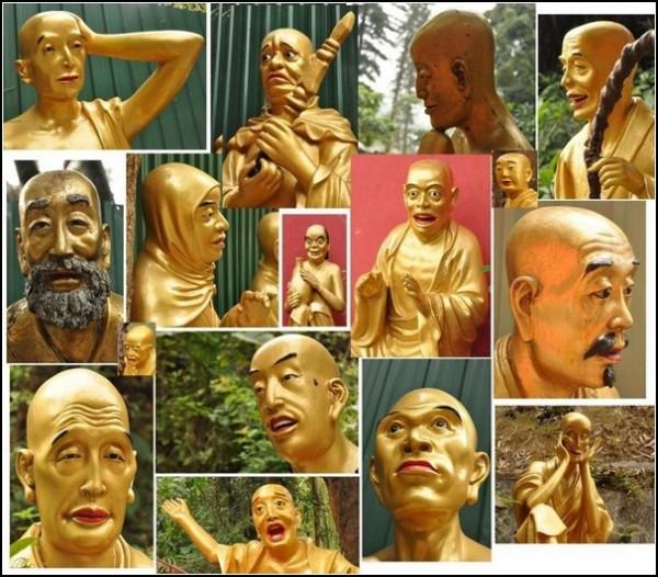 Буддийский монастырь в Ша Тине: 12 800 памятников человечеству