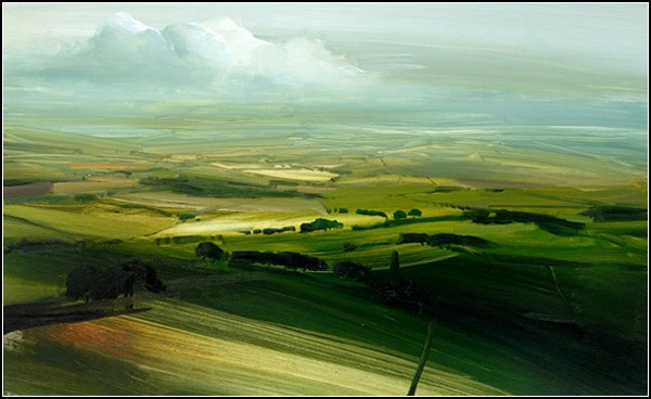 Деревенские пейзажи Джеймса Ноутона