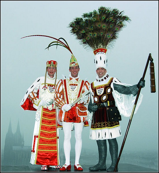 Карнавал в Кельне: короли