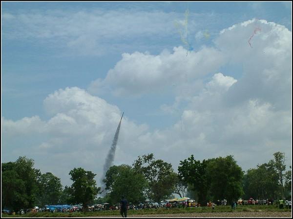 Праздник ракет в Таиланде